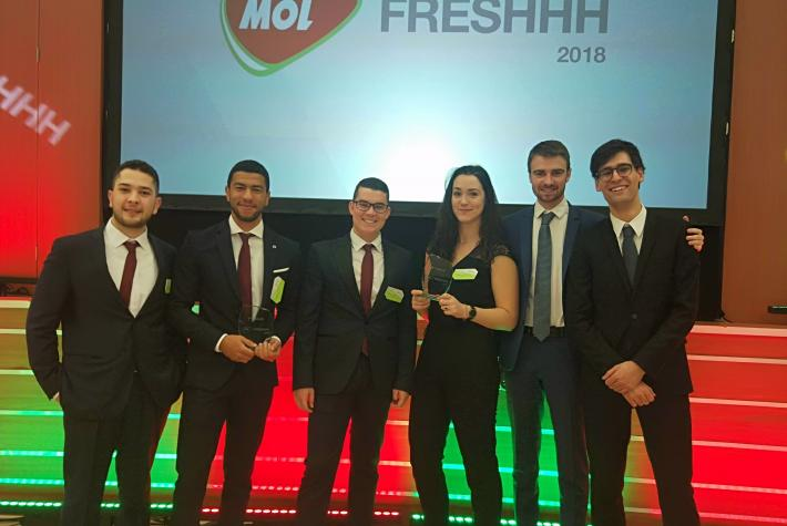 Two IFP School teams winners of the MOL Freshhh competition