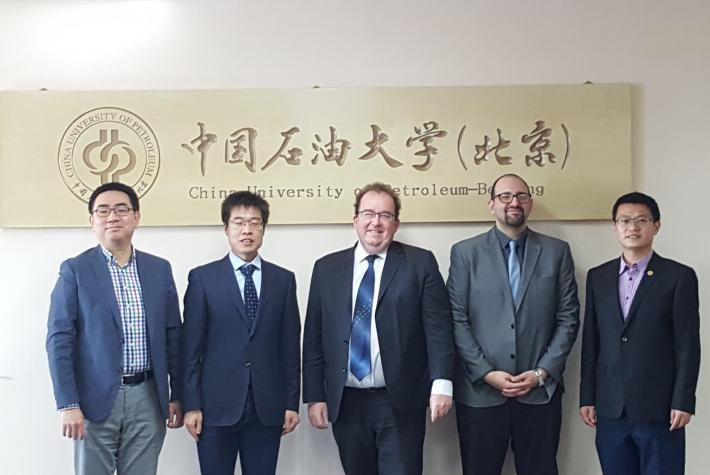 2019 Visit to China University of Petroleum