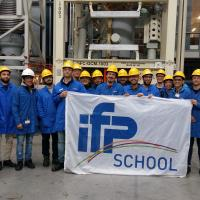 Group of students from IFP School in Norway