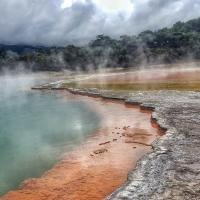 Geothermal and volcanic water source