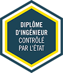 French Engineering degree label - controlled by the State