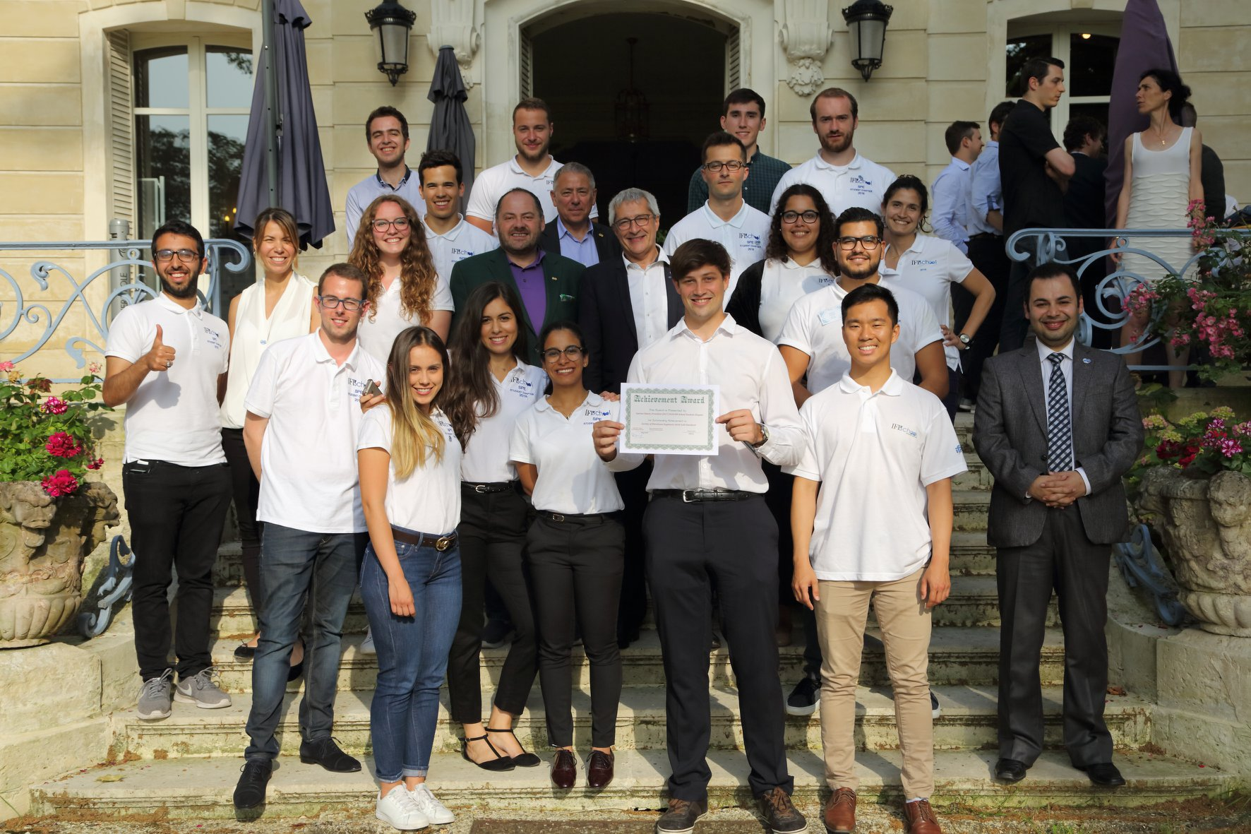 The SPE Student Chapter awarded Gold Standard 2018